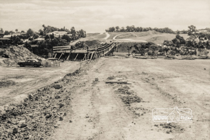 ThrowbackThursday: Greensborough Bypass Construction, 1986