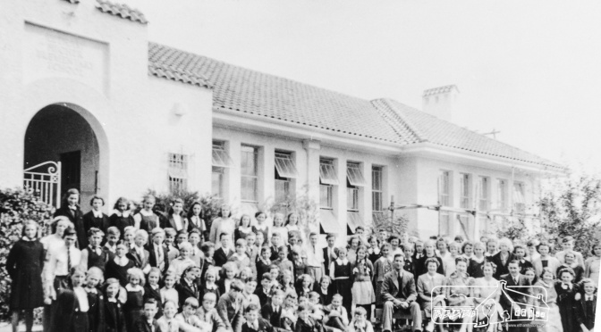 ThrowbackThursday: Official Opening, Eltham High School, October 13th,1928
